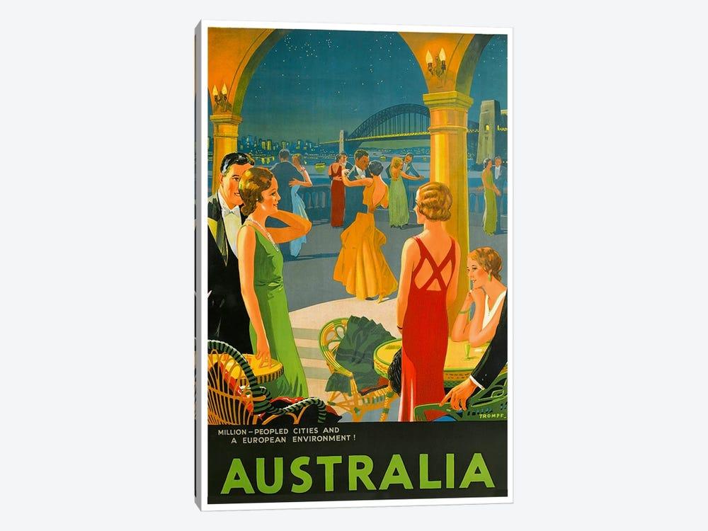 Australia III by Unknown Artist 1-piece Canvas Art