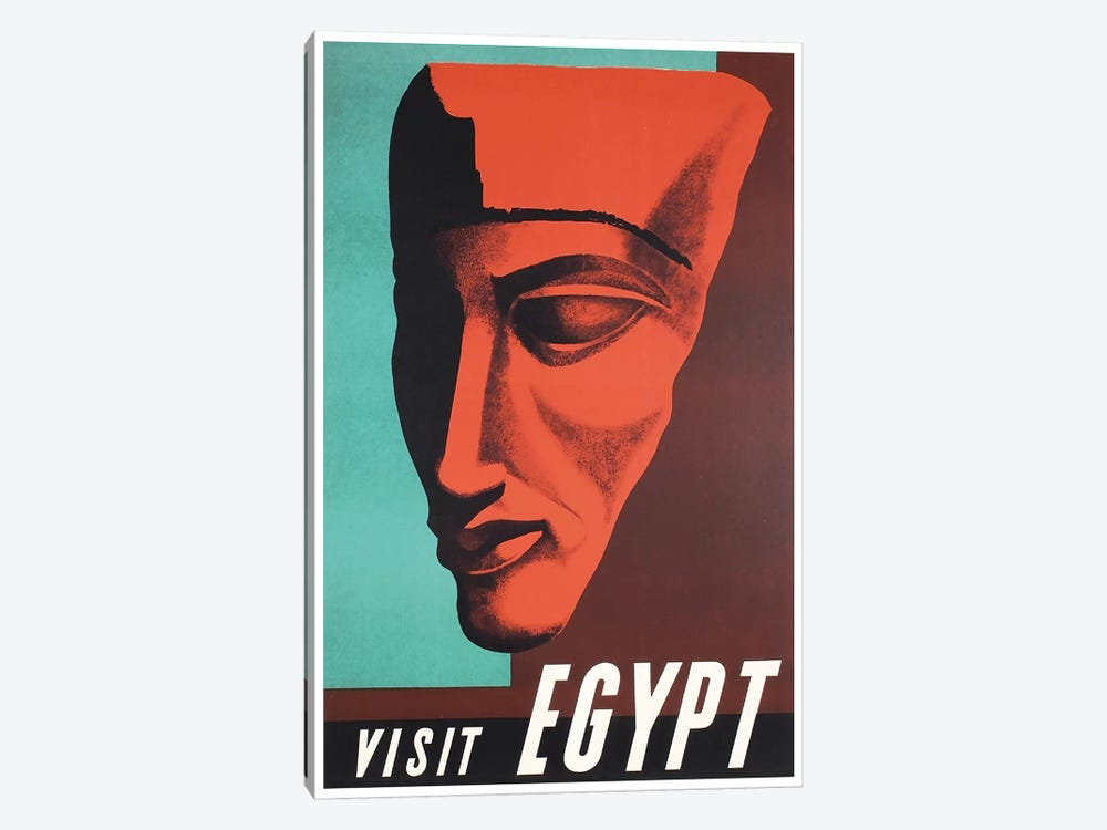 Visit Egypt 1-piece Canvas Art