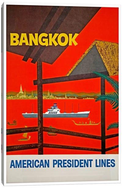 Bangkok, Thailand - American President Lines Canvas Art Print