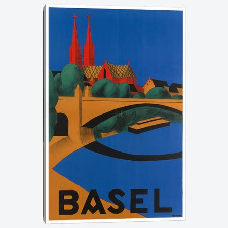 Basel, Switzerland Canvas Print #LIV39} by Unknown Artist Canvas Art Print