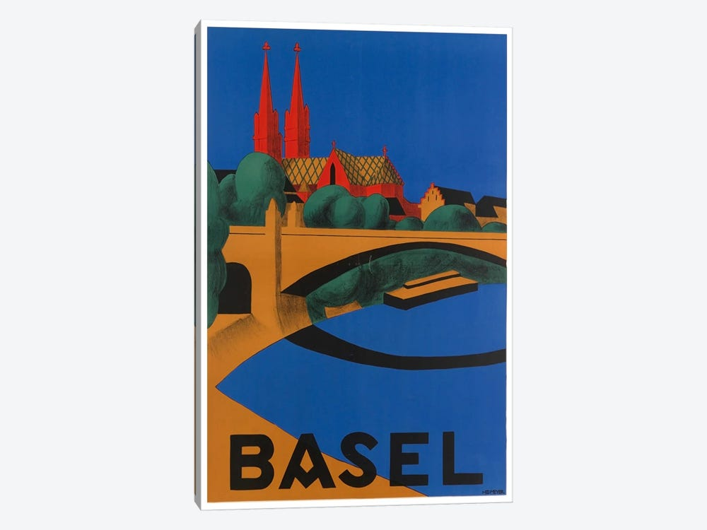 Basel, Switzerland by Unknown Artist 1-piece Canvas Artwork