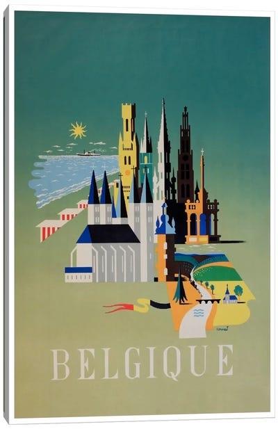 Belgique (Belgium) I Canvas Print #LIV41