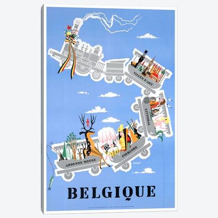 Belgique (Belgium) II Canvas Print #LIV42} by Unknown Artist Canvas Wall Art