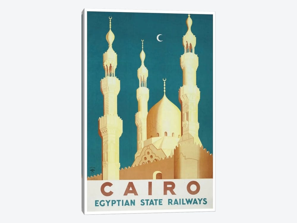 Cairo - Egyptian State Railways by Unknown Artist 1-piece Art Print
