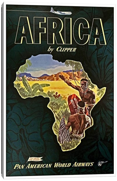 Africa - Pan Am I Canvas Art Print