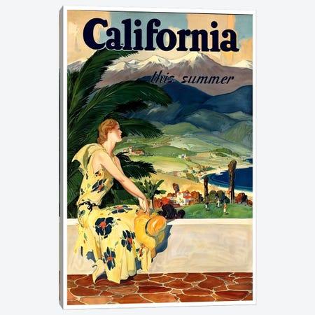 California, This Summer Canvas Print #LIV50} by Unknown Artist Canvas Print