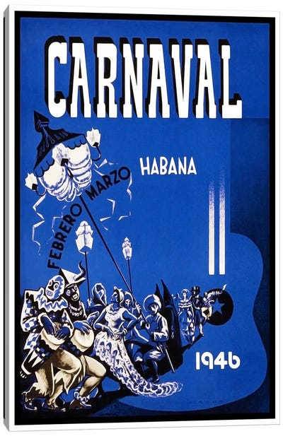 Carnaval: Habana, Febrero-Marzo 1946 Canvas Print #LIV55