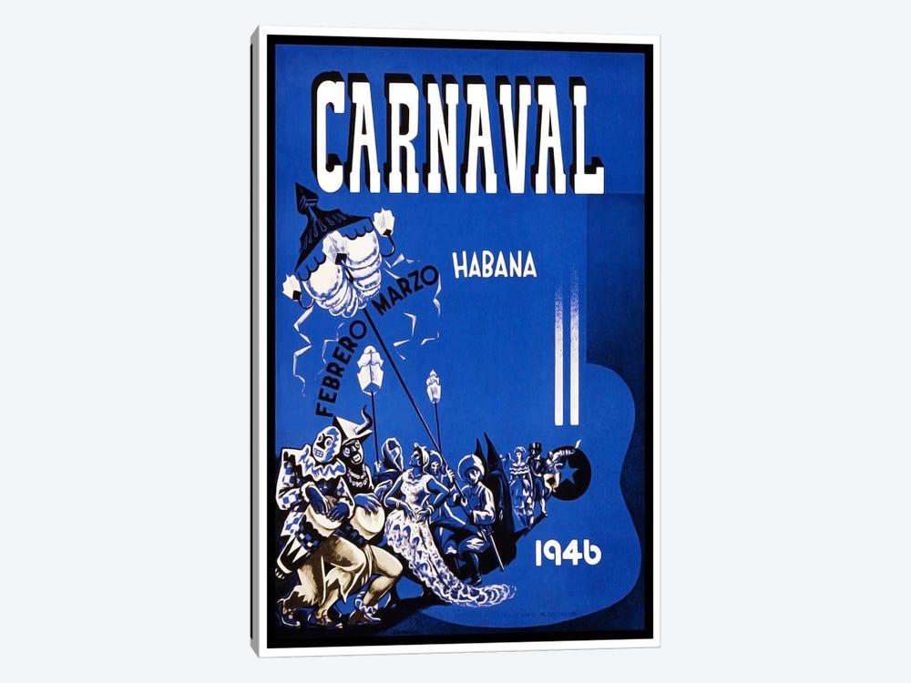 Carnaval: Habana, Febrero-Marzo 1946 by Unknown Artist 1-piece Canvas Art