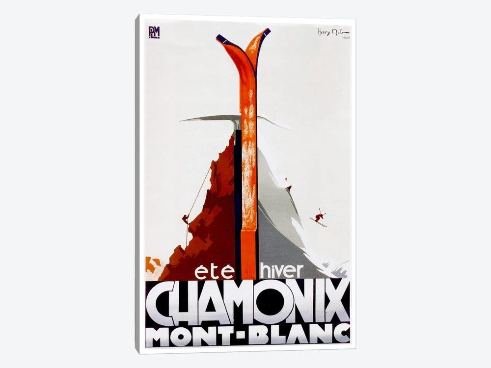 Chamonix-Mont-Blanc I by Unknown Artist 1-piece Canvas Print