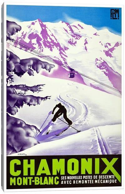 Chamonix-Mont-Blanc II Canvas Print #LIV57