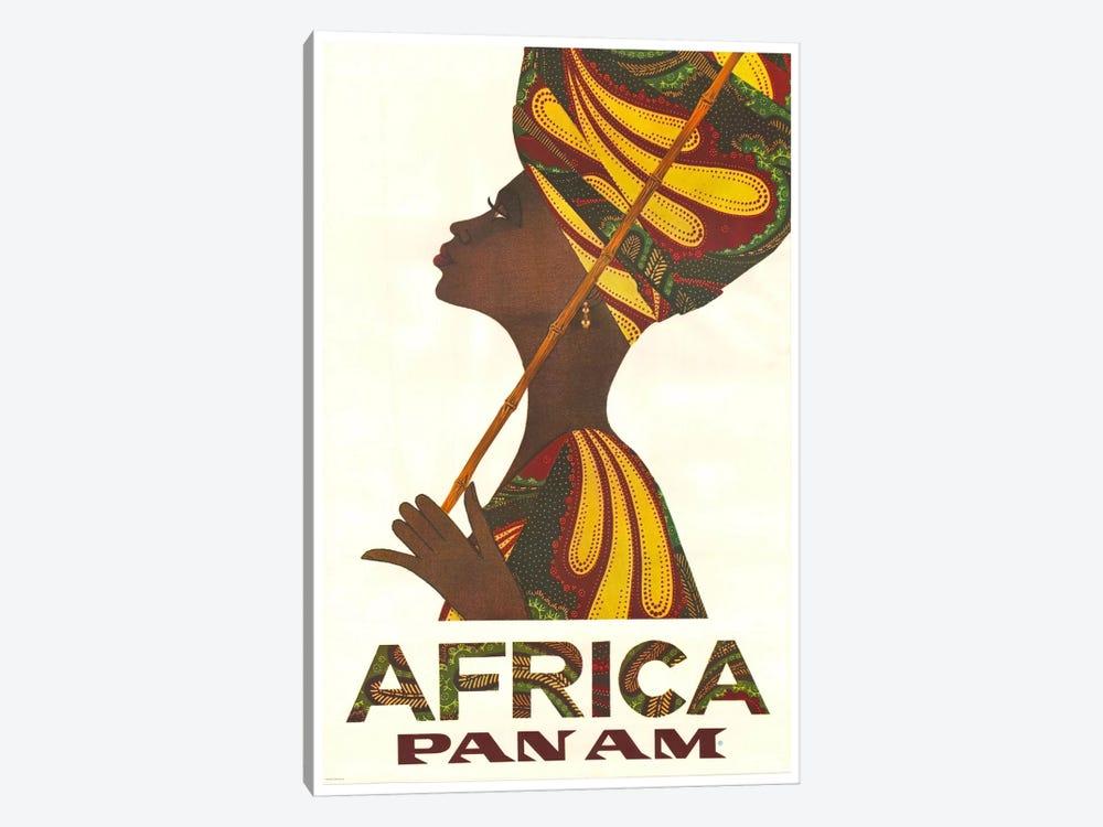 Africa - Pan Am II by Unknown Artist 1-piece Canvas Print