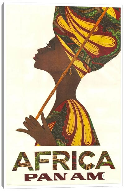 Africa - Pan Am II Canvas Art Print