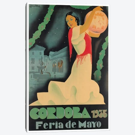 Cordoba Feria de Mayo, 1935 Canvas Print #LIV65} by Unknown Artist Canvas Art Print
