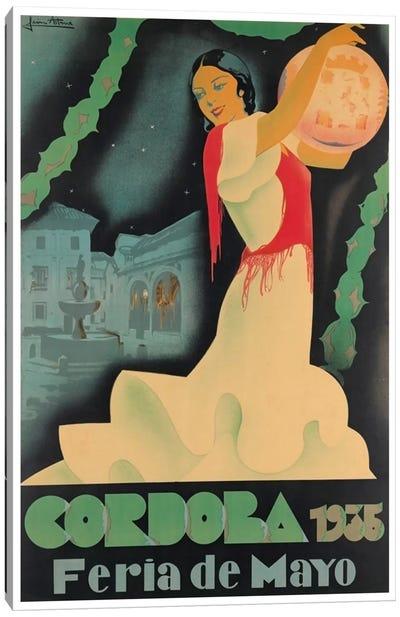 Cordoba Feria de Mayo, 1935 Canvas Print #LIV65