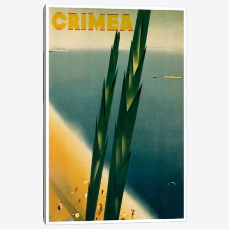 Crimea Canvas Print #LIV66} by Unknown Artist Canvas Art Print