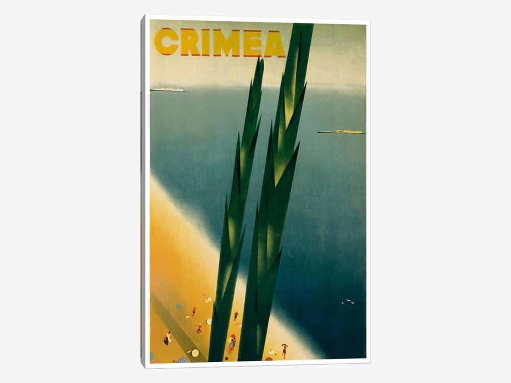 Crimea 1-piece Canvas Wall Art