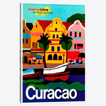 Curacao Canvas Print #LIV68} by Unknown Artist Canvas Art