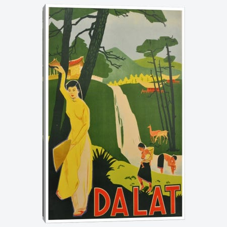 Da Lat, Vietnam Canvas Print #LIV70} by Unknown Artist Art Print