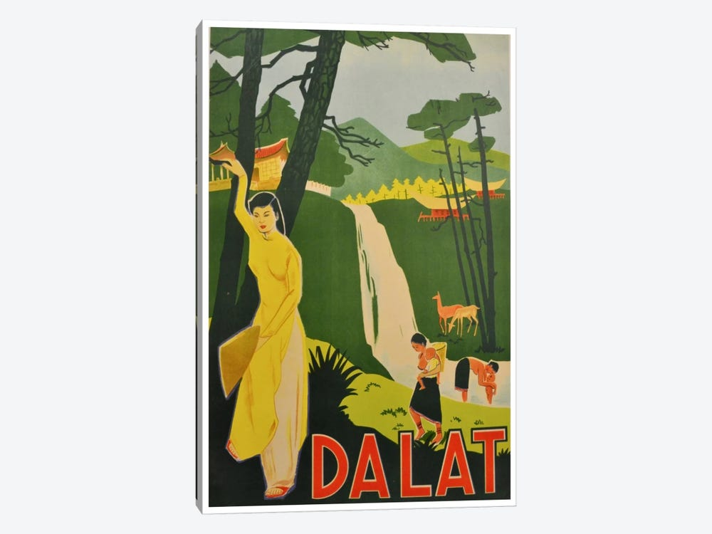 Da Lat, Vietnam 1-piece Canvas Art Print