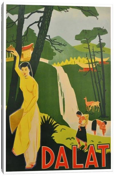 Da Lat, Vietnam Canvas Art Print