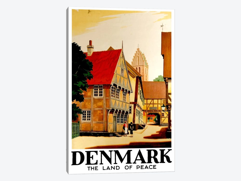 Denmark: Land Of Peace 1-piece Art Print