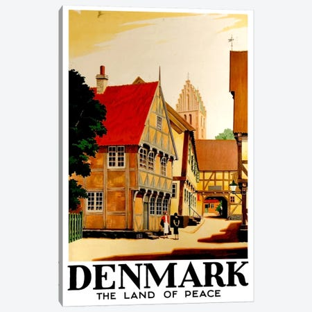Denmark: Land Of Peace Canvas Print #LIV72} by Unknown Artist Art Print