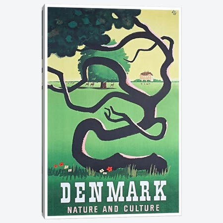 Denmark: Nature And Culture Canvas Print #LIV73} by Unknown Artist Canvas Print