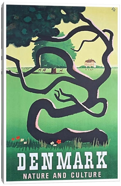 Denmark: Nature And Culture Canvas Art Print
