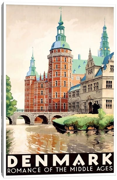 Denmark: Romance Of The Middle Ages Canvas Art Print