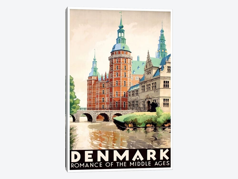 Denmark: Romance Of The Middle Ages by Unknown Artist 1-piece Art Print