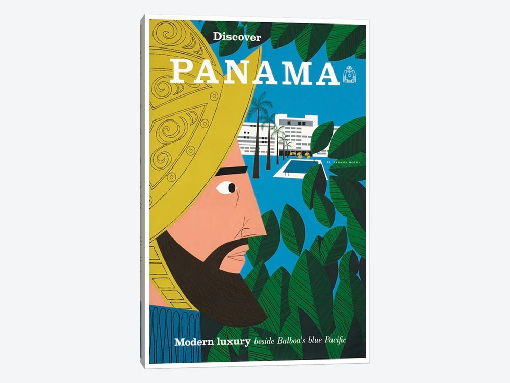 Discover Panama: Modern Luxury Beside Balboa's Blue Pacific 1-piece Canvas Print