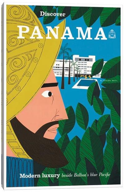 Discover Panama: Modern Luxury Beside Balboa's Blue Pacific Canvas Art Print