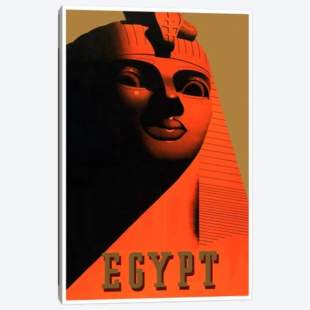 Egypt I Canvas Print #LIV80} by Unknown Artist Canvas Wall Art
