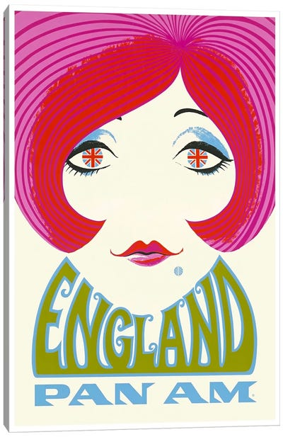 England - Pan Am Canvas Art Print