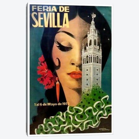 Feria de Sevilla, 1-6 de Mayo de 1973 Canvas Print #LIV89} by Unknown Artist Canvas Art