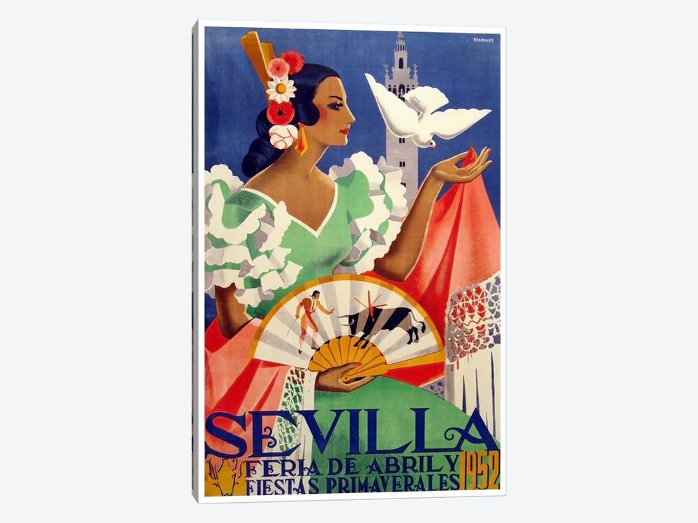 Feria de Sevilla, Abril de 1952 by Unknown Artist 1-piece Art Print