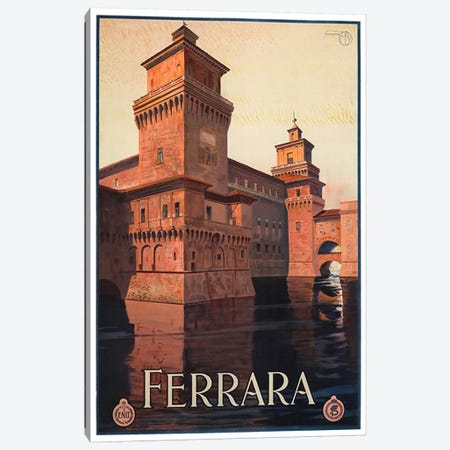 Ferrara, Italy Canvas Print #LIV92} by Unknown Artist Canvas Art Print