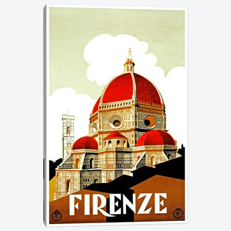 Firenze Canvas Print #LIV93} by Unknown Artist Art Print