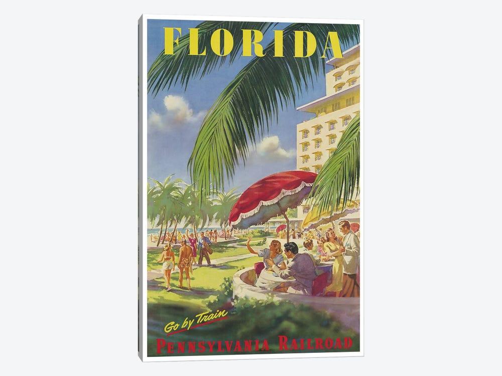 Florida - Pennsylvania Railroad by Unknown Artist 1-piece Canvas Wall Art