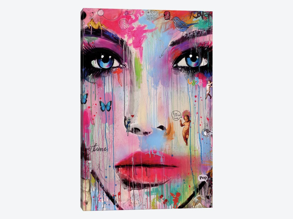 Never by Loui Jover 1-piece Canvas Artwork