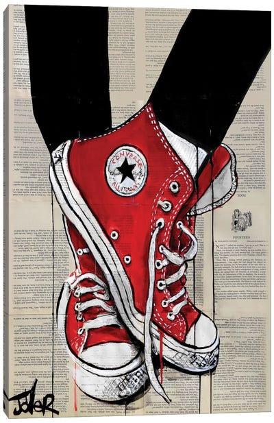Redd Canvas Print #LJR105