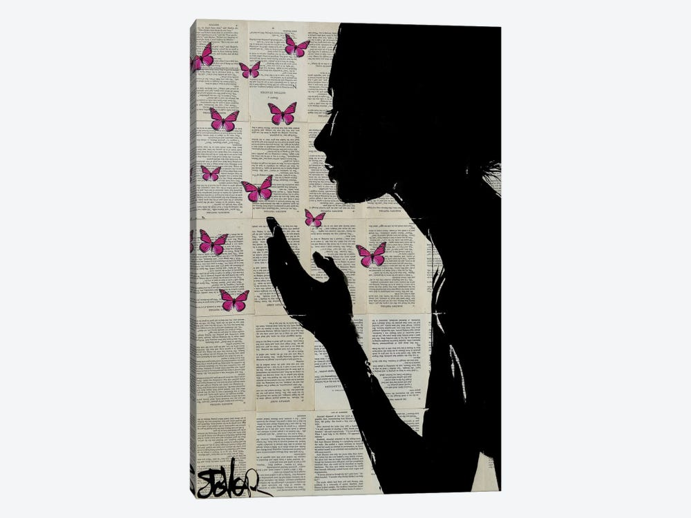 Simplicity by Loui Jover 1-piece Canvas Art