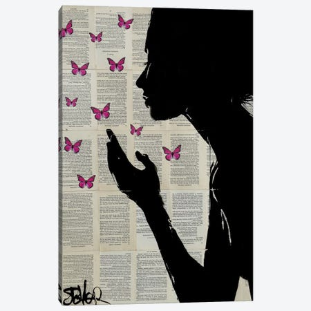 Simplicity Canvas Print #LJR106} by Loui Jover Canvas Art Print
