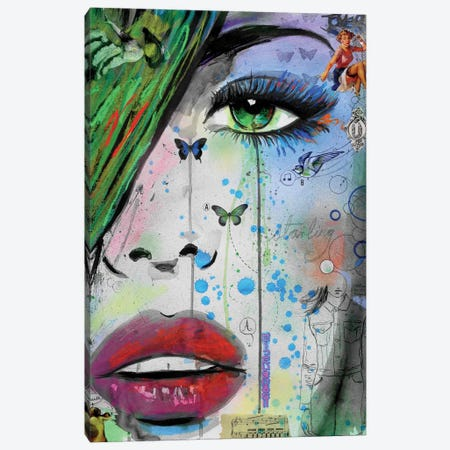 Starling Canvas Print #LJR108} by Loui Jover Canvas Wall Art