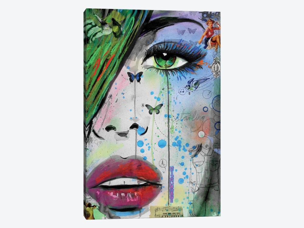 Starling by Loui Jover 1-piece Canvas Art