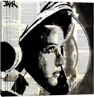The Astronaut Canvas Art Print