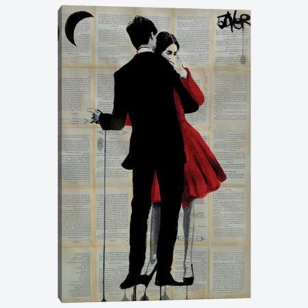 True Romance Canvas Print #LJR110} by Loui Jover Canvas Print