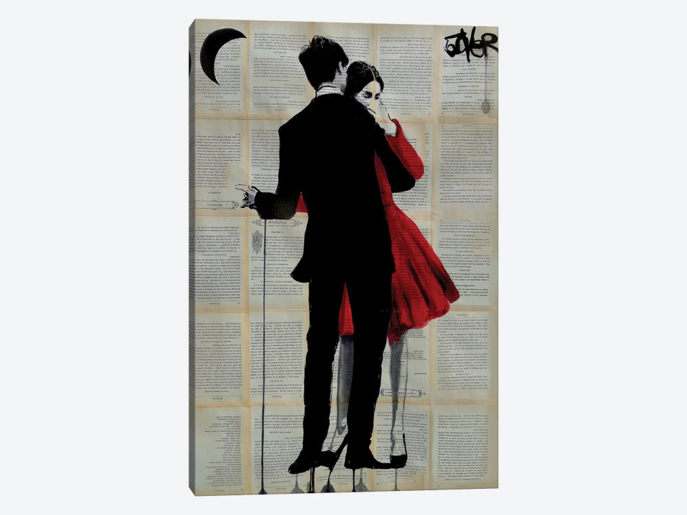 True Romance 1-piece Canvas Print