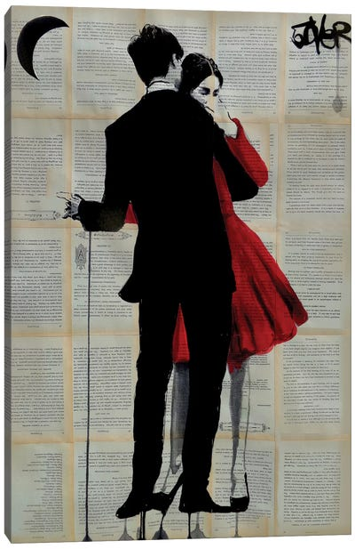 True Romance Canvas Art Print
