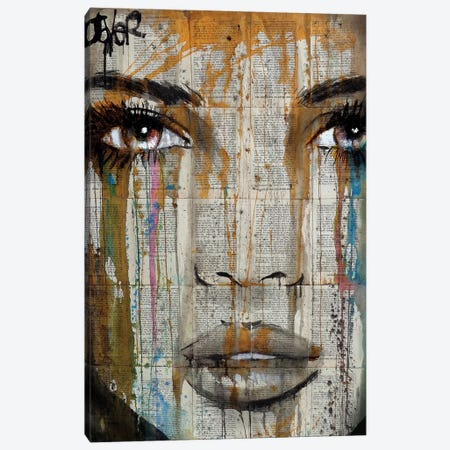 Amongst It All Canvas Print #LJR113} by Loui Jover Art Print